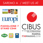 Meet us at Cibus 2018